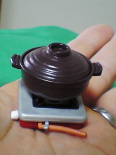 手のひらの土鍋