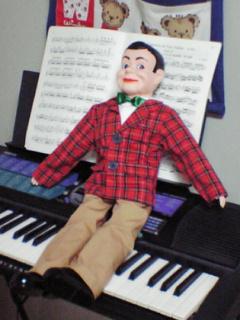 パペット・ボーイ ワトソンon the piano
