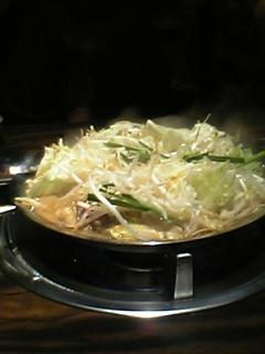 鉄板鍋料理その2