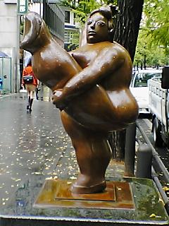 裸のおばさんその1