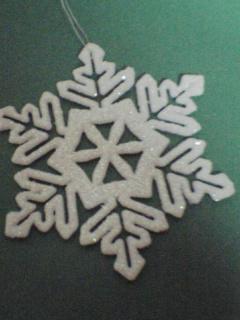 ポーランドからのプレゼント雪の結晶