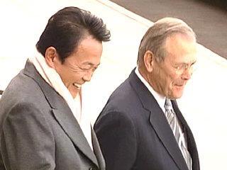 外交タロー:20051203ラムズフェルド長官と会談