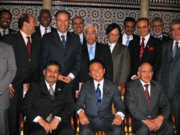 外交タロー:20061213アラブ大使会議恒例昼食会1