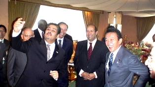 外交タロー:20061213アラブ大使会議恒例昼食会2