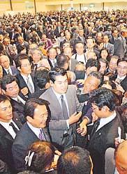 党務だタロー:20061029富山県連政経文化パーティー