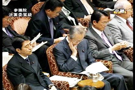 国会タロー:20061204参院決算委員会・てづくな