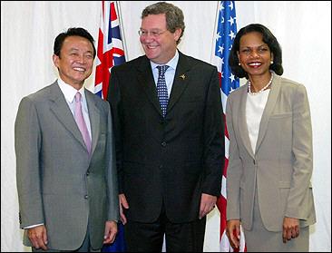 外交タロー:20060318日米豪戦略対話