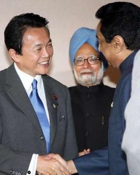 外交タロー:20061214シン首相、カマル・ナート通産相と