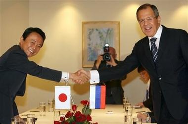 外交タロー:20061118日露外相会談