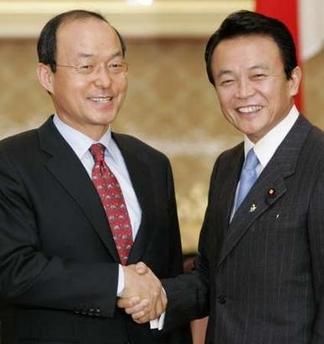 外交タロー:20061227日韓刑事共助条約1