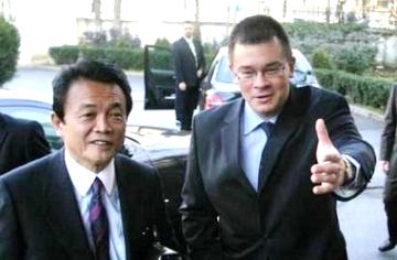 外交タロー:20070110日ルーマニア外相と
