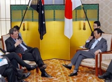 外交タロー:20060802日豪外相会談