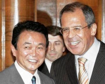 外交タロー:20060628日露外相会談