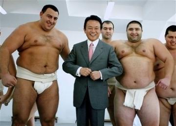 外交タロー:20070111強いぞ僕らの麻生太郎!