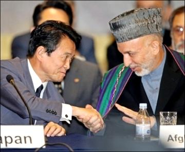 外交タロー:20060705アフガニスタンの「平和の定着」に関する第2回東京会議
