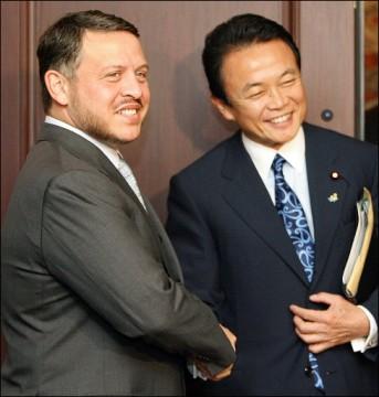 外交タロー:20061221ヨルダンのアブドッラー国王と