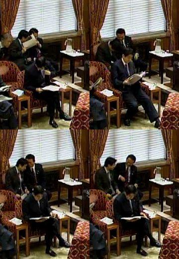 国会タロー:20070202衆院予算委員会「塩崎官房長官と」