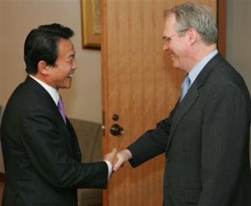 外交タロー:20070206ヒル米国務次官補の表敬
