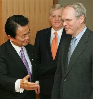 外交タロー:20070206ヒル米国務次官補の表敬2