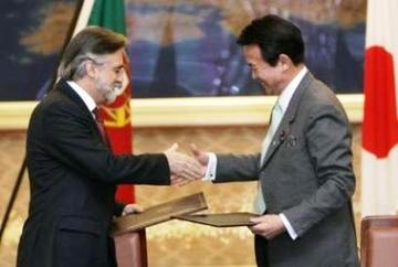 外交タロー:20070207ポルトガルのアーメド外相と