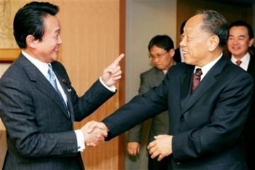 外交タロー:20070216日中外相会談1