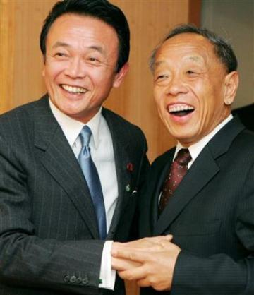外交タロー:20070216日中外相会談2