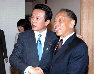外交タロー:20070216日中外相会談4
