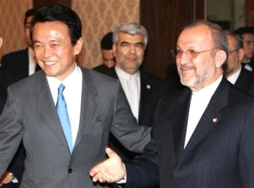 外交タロー:20060227イラクのモッタキ外相の訪日