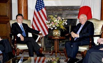 外交タロー:20070221チェイニー副大統領と会談1