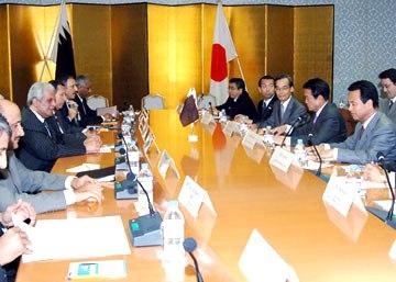 外交タロー:20061113日・カタール経済委員会
