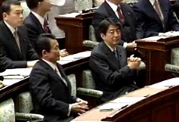 国会タロー:20070227モンゴル国大統領夫妻歓迎会