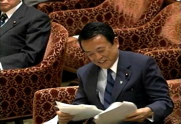 国会タロー:20070301衆院予算委員会「笑顔」