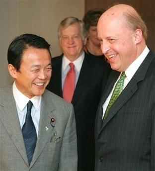 外交タロー:20070302ネグロポンテ米国務副長官と会談1