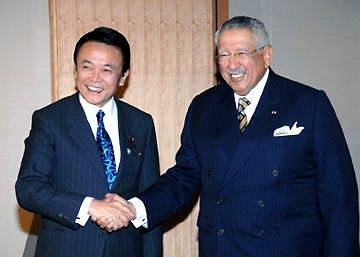 外交タロー:20070226ザワウィ・オマーン国王特別顧問と