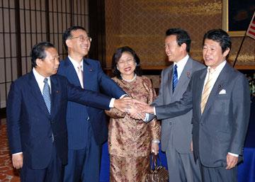 外交タロー:20060713日・マレーシアEPA第1回合同委員会