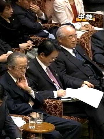 国会タロー:20070305参院予算委員会08「久間さんまで」