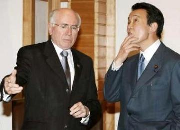 外交タロー:20070312ハワード豪首相1