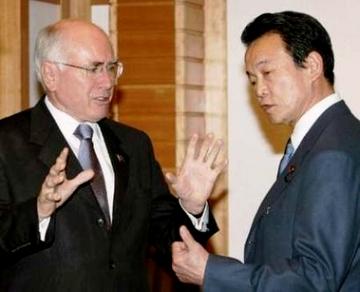 外交タロー:20070312ハワード豪首相2
