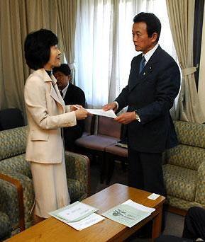 20070312高橋北海道知事の訪問