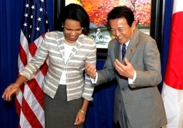 外交タロー:20061116日米外相会談