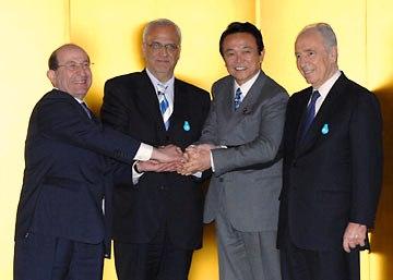 外交タロー:20070314「平和と繁栄の回廊」構想4者協議