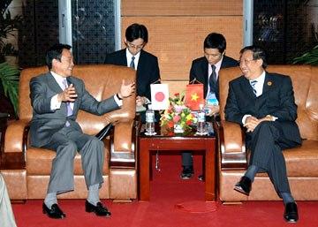 20061115ベトナムのファム・ザー・キエム外相と