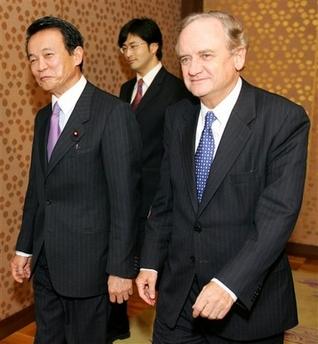 外交タロー:20070327チリのフォックスレイ外相と