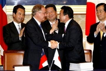 外交タロー:20070327日チリ署名式2