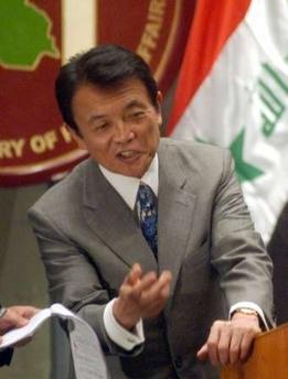 会見タロー:20060803イラクのジバリ外相との共同記者会見