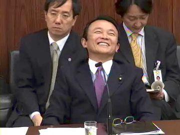 国会タロー:20070424参院外交防衛委員会「笑顔」2