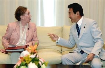 外交タロー:20070504日英外相会談