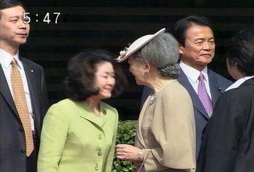 外交タロー:20070326スウェーデン国王夫妻来日2