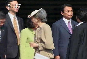 外交タロー:20070326スウェーデン国王夫妻来日3