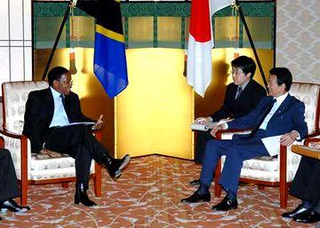 外交タロー:20070515日タンザニア外相会談